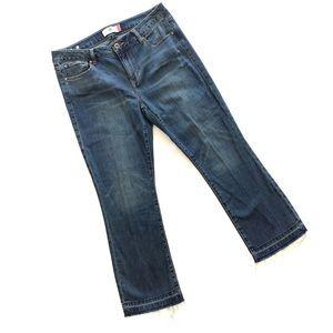 Cabi Clothing Kick It Crop Jeans, #5307, Spring 18
